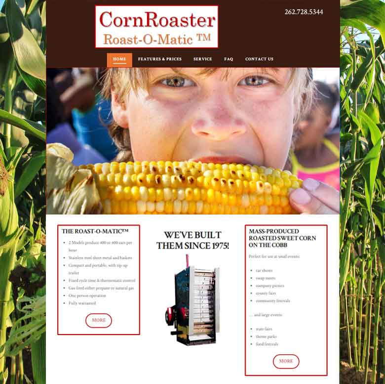 Corn Roaster Roast-O-Matic