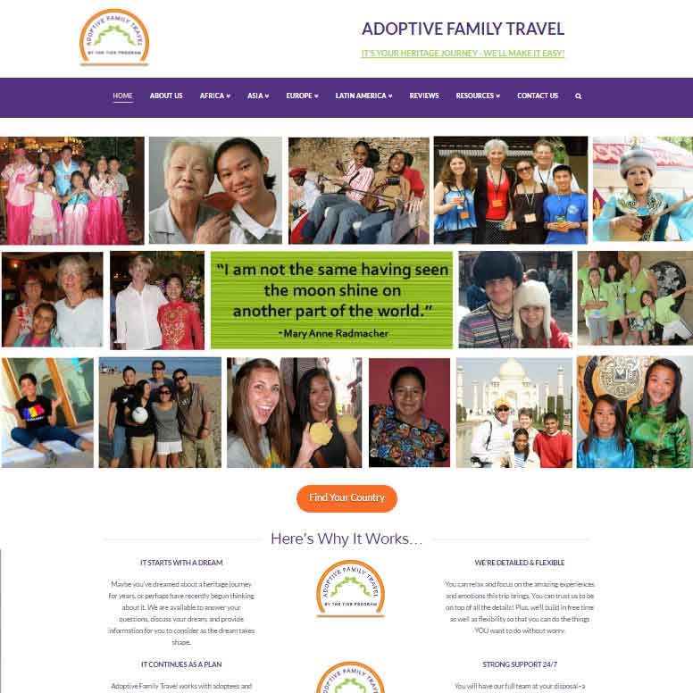 Adoptive Family Travel