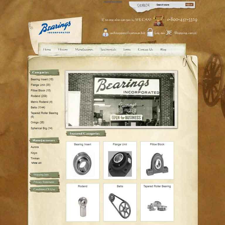 Bearings, Incorporated