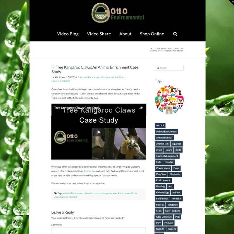 Otto Environmental Video Blog